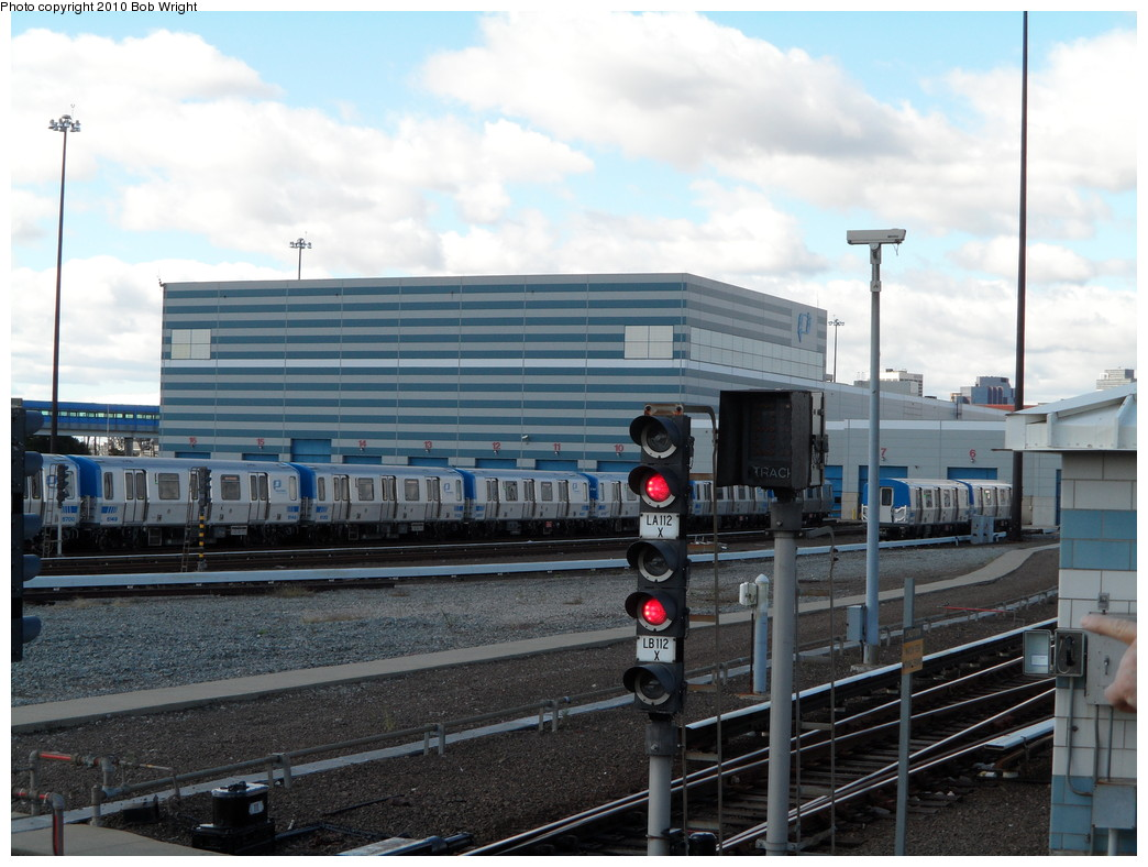 (225k, 1044x788)<br><b>Country:</b> United States<br><b>City:</b> Harrison, NJ<br><b>System:</b> PATH<br><b>Location:</b> Harrison Yard/Shop <br><b>Car:</b> PATH PA-5 (Kawasaki, 2009-2011) 5149 etc <br><b>Photo by:</b> Bob Wright<br><b>Date:</b> 10/16/2010<br><b>Viewed (this week/total):</b> 2 / 750