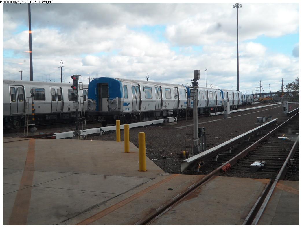 (196k, 1044x788)<br><b>Country:</b> United States<br><b>City:</b> Harrison, NJ<br><b>System:</b> PATH<br><b>Location:</b> Harrison Yard/Shop <br><b>Car:</b> PATH PA-5 (Kawasaki, 2009-2011) 5112 <br><b>Photo by:</b> Bob Wright<br><b>Date:</b> 10/16/2010<br><b>Viewed (this week/total):</b> 6 / 859