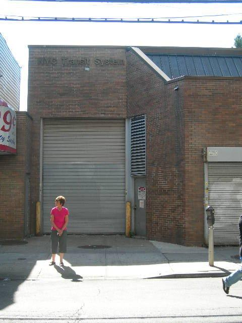(46k, 480x640)<br><b>Country:</b> United States<br><b>City:</b> New York<br><b>System:</b> New York City Transit<br><b>Line:</b> BMT Nassau Street/Jamaica Line<br><b>Location:</b> 85th Street/Forest Parkway <br><b>Photo by:</b> Joe Grillo<br><b>Notes:</b> BMT substation west of 85th St./Forest Parkway station.<br><b>Viewed (this week/total):</b> 6 / 1198