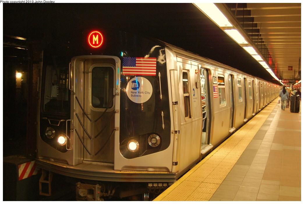 (216k, 1044x701)<br><b>Country:</b> United States<br><b>City:</b> New York<br><b>System:</b> New York City Transit<br><b>Line:</b> BMT Nassau Street/Jamaica Line<br><b>Location:</b> Essex Street <br><b>Route:</b> L<br><b>Car:</b> R-160A-1 (Alstom, 2005-2008, 4 car sets)  8524 <br><b>Photo by:</b> John Dooley<br><b>Date:</b> 10/28/2010<br><b>Viewed (this week/total):</b> 0 / 1403