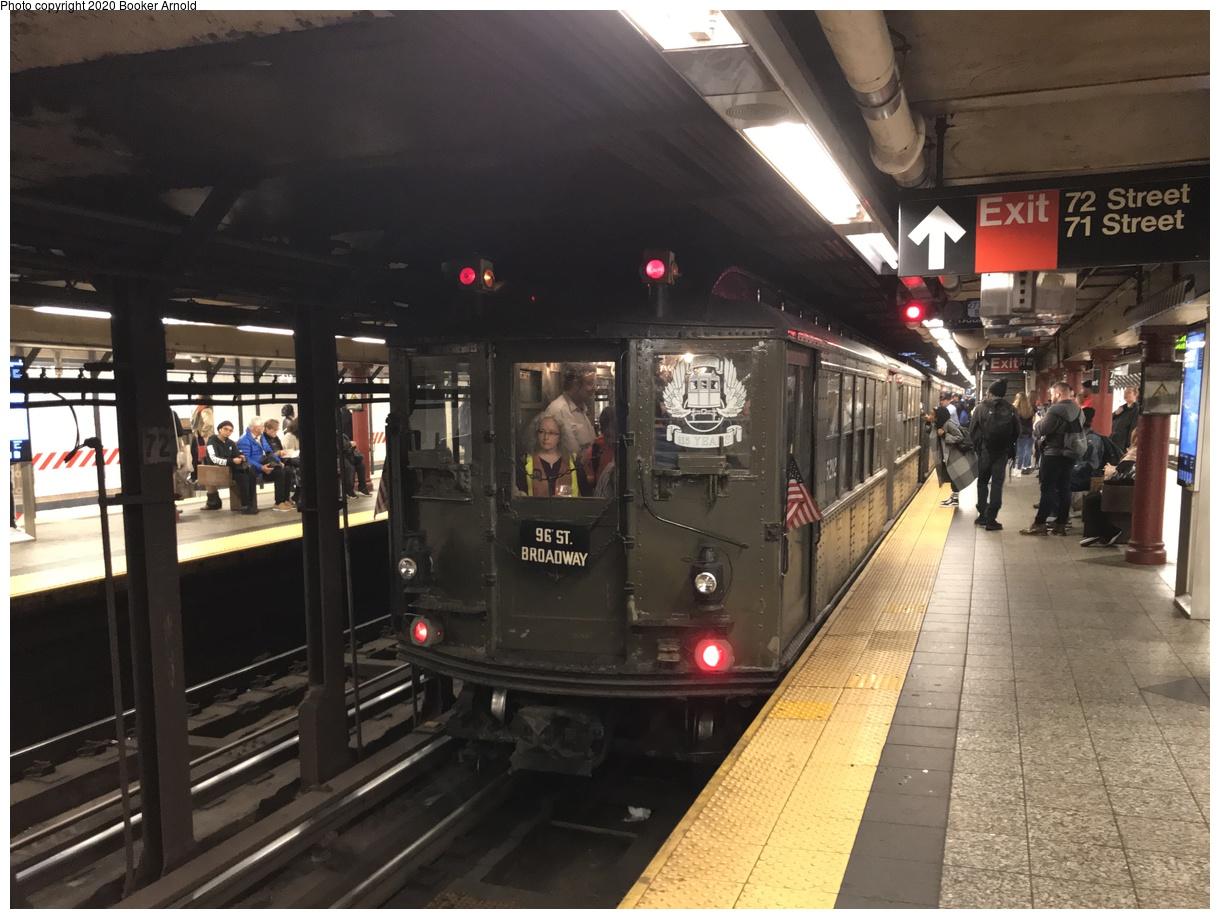 (134k, 1024x746)<br><b>Country:</b> United States<br><b>City:</b> New York<br><b>System:</b> New York City Transit<br><b>Line:</b> BMT Nassau Street/Jamaica Line<br><b>Location:</b> 168th Street (Demolished) <br><b>Route:</b> QJ<br><b>Car:</b> R-42 (St. Louis, 1969-1970)   <br><b>Collection of:</b> George Conrad Collection<br><b>Date:</b> 8/16/1969<br><b>Viewed (this week/total):</b> 6 / 3156