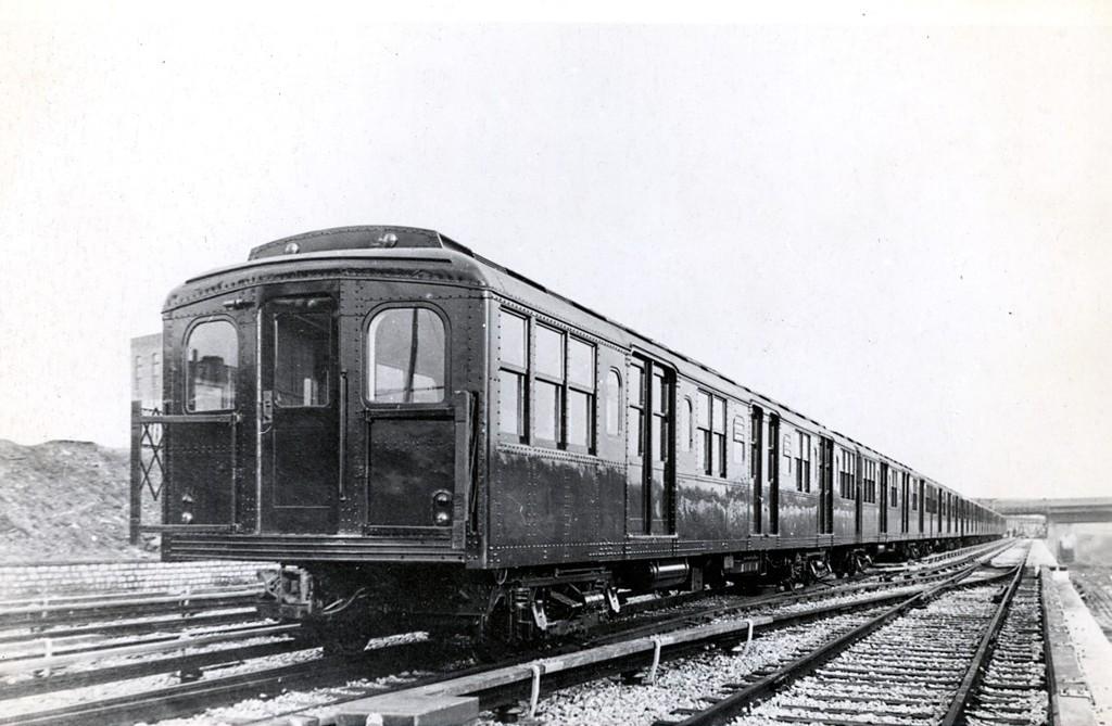 (164k, 1024x669)<br><b>Country:</b> United States<br><b>City:</b> New York<br><b>System:</b> New York City Transit<br><b>Location:</b> Coney Island Yard<br><b>Car:</b> BMT A/B-Type Standard 2001 <br><b>Collection of:</b> George Conrad Collection<br><b>Date:</b> 6/1915<br><b>Viewed (this week/total):</b> 2 / 2447