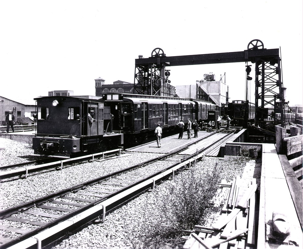 (294k, 1024x843)<br><b>Country:</b> United States<br><b>City:</b> New York<br><b>System:</b> New York City Transit<br><b>Location:</b> 207th Street Yard<br><b>Car:</b> R-1 (American Car & Foundry, 1930-1931) 200 <br><b>Collection of:</b> George Conrad Collection<br><b>Date:</b> 1932<br><b>Viewed (this week/total):</b> 0 / 1143