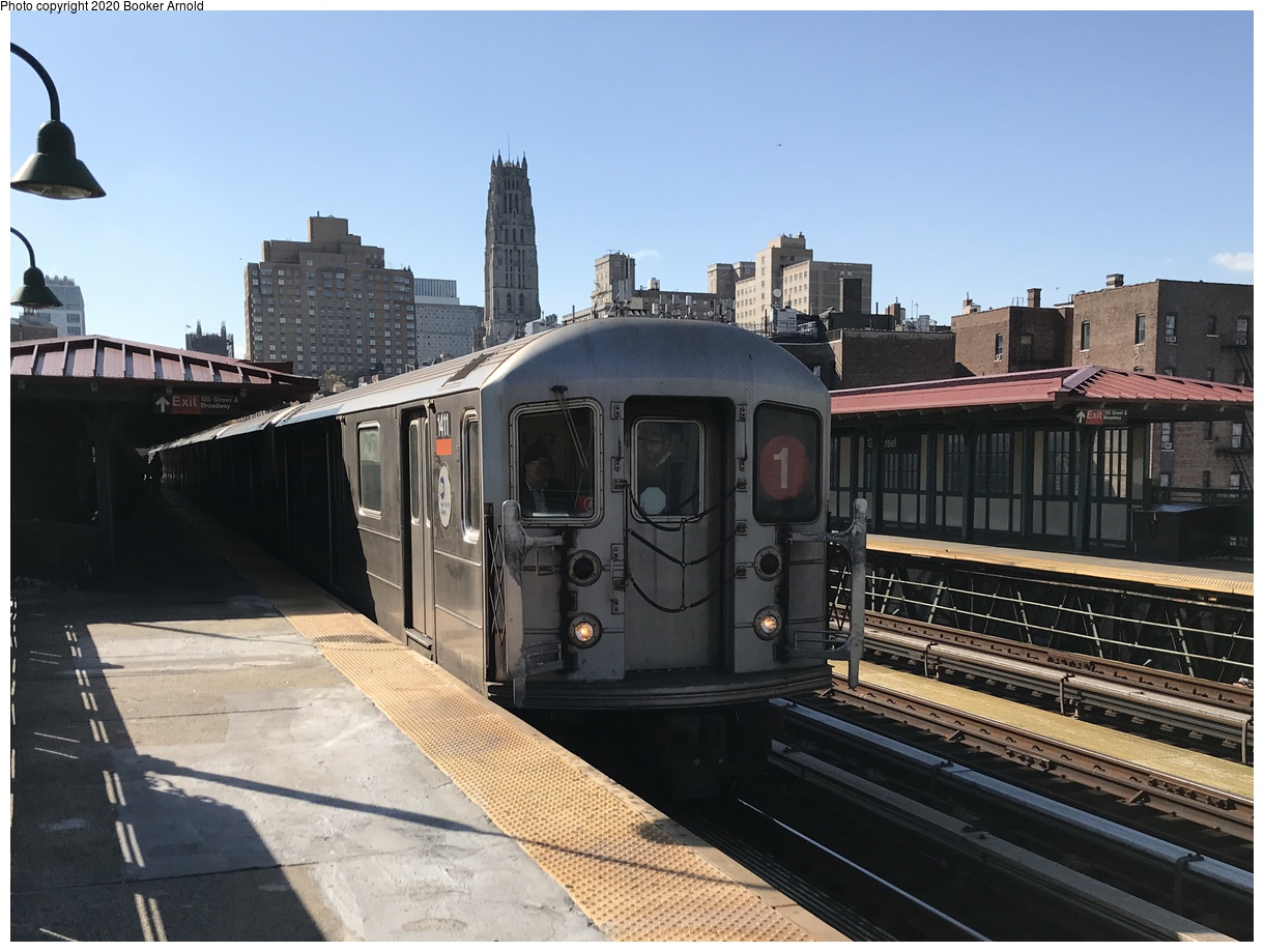 (238k, 1024x801)<br><b>Country:</b> United States<br><b>City:</b> New York<br><b>System:</b> New York City Transit<br><b>Line:</b> IRT Dyre Ave. Line<br><b>Location:</b> Morris Park <br><b>Car:</b> R-14 (American Car & Foundry, 1949) 5814 <br><b>Collection of:</b> George Conrad Collection<br><b>Date:</b> 10/20/1970<br><b>Viewed (this week/total):</b> 2 / 3142