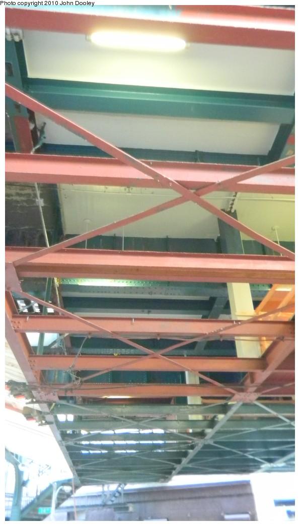 (133k, 596x1044)<br><b>Country:</b> United States<br><b>City:</b> New York<br><b>System:</b> New York City Transit<br><b>Line:</b> BMT West End Line<br><b>Location:</b> 62nd Street <br><b>Photo by:</b> John Dooley<br><b>Date:</b> 11/28/2010<br><b>Notes:</b> Mezzanine reconstruction.<br><b>Viewed (this week/total):</b> 0 / 610
