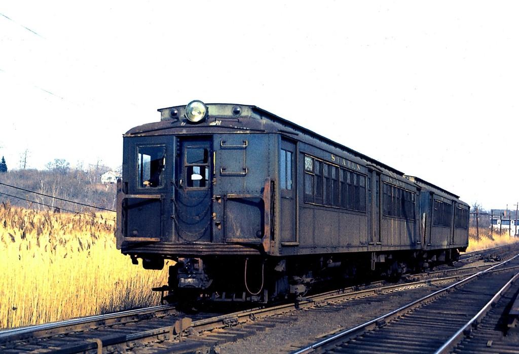 (171k, 1024x699)<br><b>Country:</b> United States<br><b>City:</b> New York<br><b>System:</b> New York City Transit<br><b>Line:</b> SIRT<br><b>Location:</b> Richmond Valley <br><b>Car:</b> SIRT ME-1 (Motor) 360 <br><b>Collection of:</b> George Conrad Collection<br><b>Date:</b> 3/19/1973<br><b>Viewed (this week/total):</b> 1 / 2389