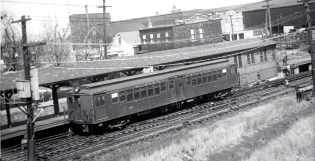 (130k, 1024x526)<br><b>Country:</b> United States<br><b>City:</b> New York<br><b>System:</b> New York City Transit<br><b>Line:</b> SIRT North Shore Line<br><b>Location:</b> Arlington <br><b>Car:</b> SIRT ME-1 (Motor) 327 <br><b>Collection of:</b> George Conrad Collection<br><b>Date:</b> 3/31/1953<br><b>Viewed (this week/total):</b> 6 / 3160