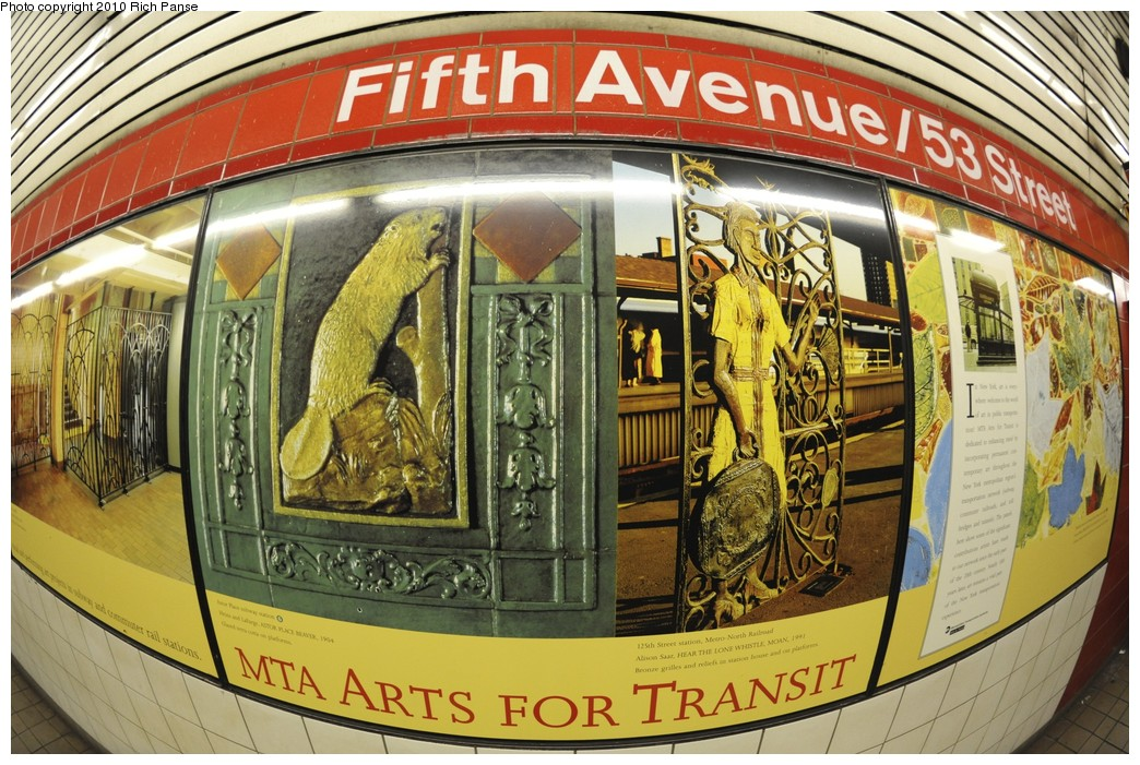 (256k, 1044x701)<br><b>Country:</b> United States<br><b>City:</b> New York<br><b>System:</b> New York City Transit<br><b>Line:</b> IND Queens Boulevard Line<br><b>Location:</b> 5th Avenue/53rd Street <br><b>Photo by:</b> Richard Panse<br><b>Date:</b> 12/5/2010<br><b>Viewed (this week/total):</b> 0 / 641