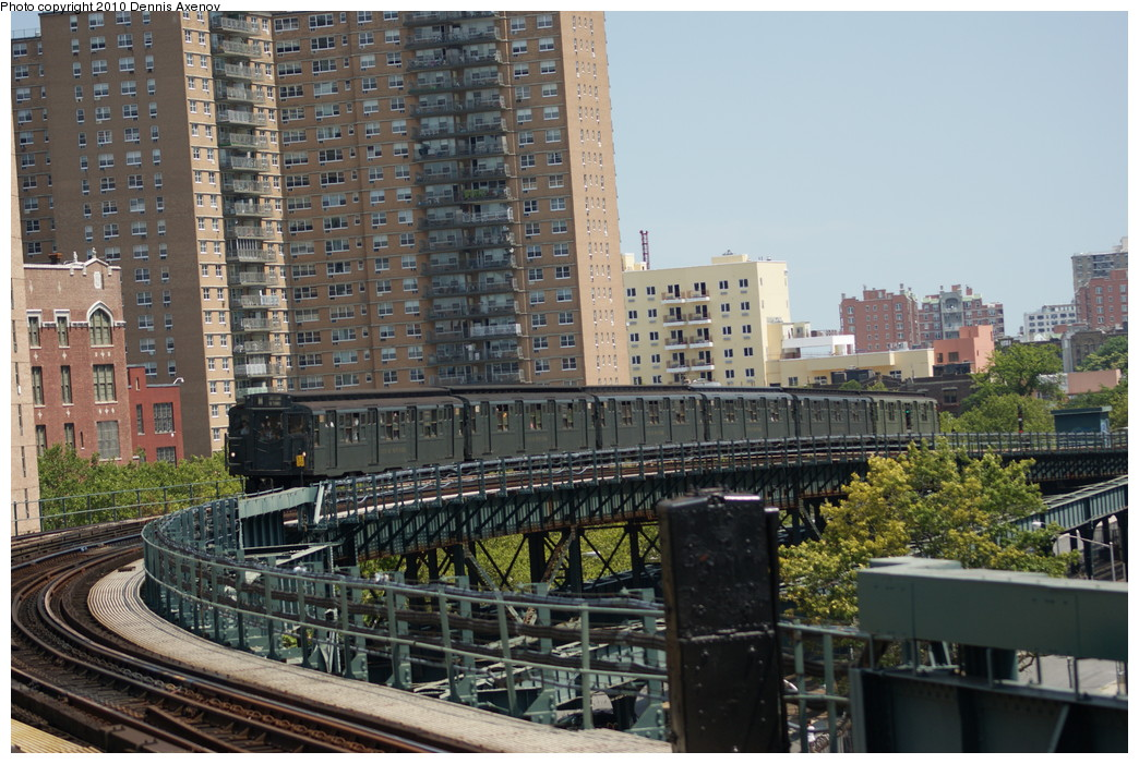 (294k, 1044x701)<br><b>Country:</b> United States<br><b>City:</b> New York<br><b>System:</b> New York City Transit<br><b>Line:</b> BMT Brighton Line<br><b>Location:</b> West 8th Street <br><b>Route:</b> Fan Trip<br><b>Car:</b> R-6-1 (Pressed Steel, 1936)  1300 <br><b>Photo by:</b> Dennis Axenov<br><b>Date:</b> 7/31/2010<br><b>Viewed (this week/total):</b> 2 / 1254