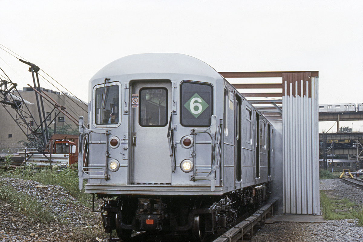 (371k, 1024x683)<br><b>Country:</b> United States<br><b>City:</b> New York<br><b>System:</b> New York City Transit<br><b>Location:</b> Westchester Yard<br><b>Car:</b> R-62A (Bombardier, 1984-1987)  1802 <br><b>Collection of:</b> Collection of nycsubway.org <br><b>Notes:</b> 1980s<br><b>Viewed (this week/total):</b> 0 / 2387
