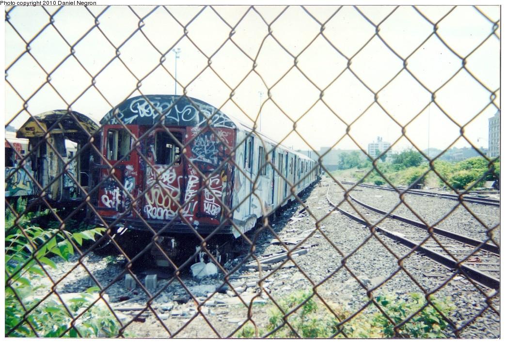(244k, 1044x710)<br><b>Country:</b> United States<br><b>City:</b> New York<br><b>System:</b> New York City Transit<br><b>Line:</b> South Brooklyn Railway<br><b>Location:</b> SBK Yard (2nd Ave at 38th St.) (SBK)<br><b>Car:</b> R-30 (St. Louis, 1961)  <br><b>Photo by:</b> Daniel Negron<br><b>Notes:</b> 1990s<br><b>Viewed (this week/total):</b> 1 / 1934