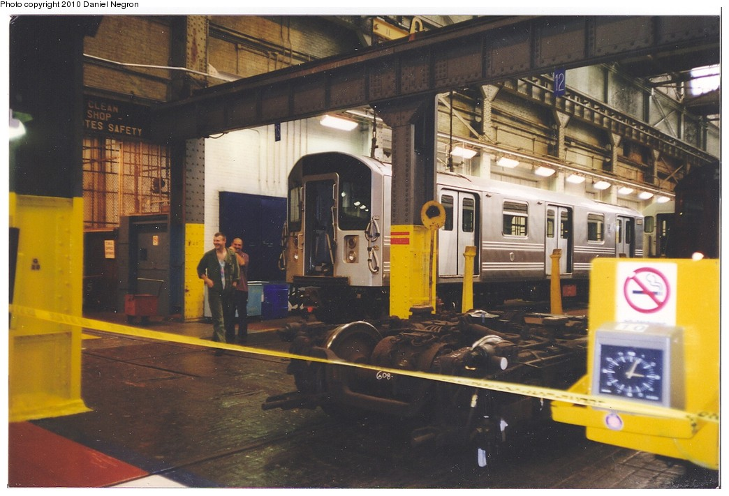 (184k, 1044x711)<br><b>Country:</b> United States<br><b>City:</b> New York<br><b>System:</b> New York City Transit<br><b>Location:</b> 207th Street Shop<br><b>Car:</b> R-110A (Kawasaki, 1992)  <br><b>Photo by:</b> Daniel Negron<br><b>Notes:</b> 1990s<br><b>Viewed (this week/total):</b> 0 / 2596