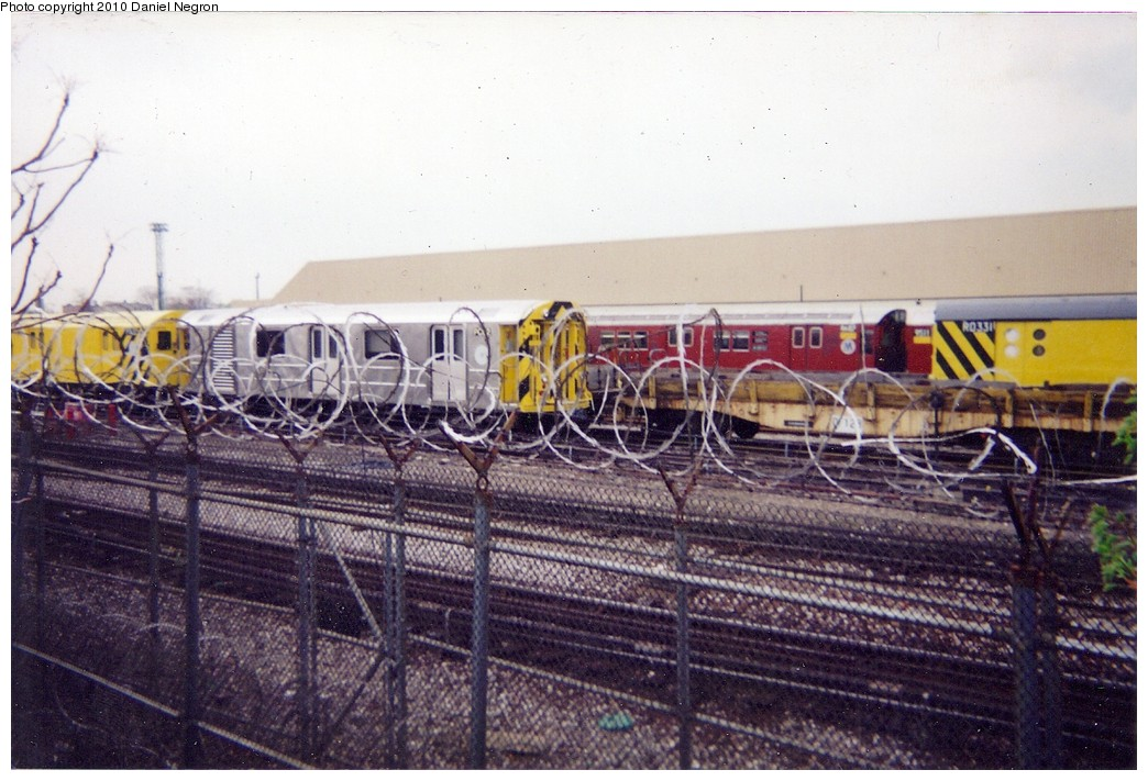 (203k, 1044x711)<br><b>Country:</b> United States<br><b>City:</b> New York<br><b>System:</b> New York City Transit<br><b>Location:</b> Westchester Yard<br><b>Car:</b> R-65 Pump Car PC02 <br><b>Photo by:</b> Daniel Negron<br><b>Notes:</b> Note R15 RD311 at right.<br><b>Viewed (this week/total):</b> 0 / 1799