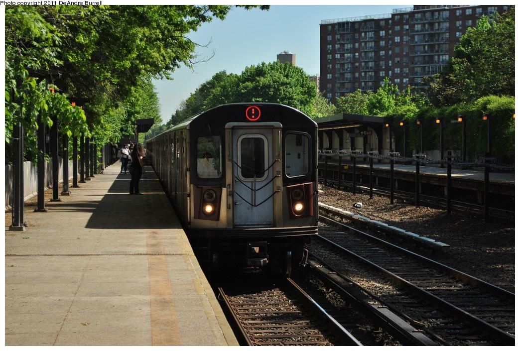 (322k, 1044x705)<br><b>Country:</b> United States<br><b>City:</b> New York<br><b>System:</b> New York City Transit<br><b>Line:</b> IRT Dyre Ave. Line<br><b>Location:</b> Baychester Avenue <br><b>Route:</b> 5<br><b>Car:</b> R-142 (Option Order, Bombardier, 2002-2003)  7036 <br><b>Photo by:</b> DeAndre Burrell<br><b>Date:</b> 5/3/2010<br><b>Viewed (this week/total):</b> 0 / 1177