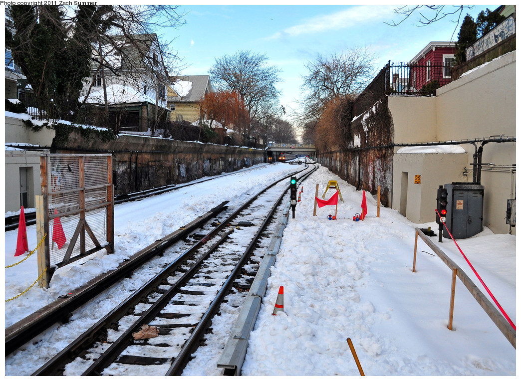 (376k, 1044x764)<br><b>Country:</b> United States<br><b>City:</b> New York<br><b>System:</b> New York City Transit<br><b>Line:</b> BMT Brighton Line<br><b>Location:</b> Newkirk Plaza (fmrly Newkirk Ave.) <br><b>Photo by:</b> Zach Summer<br><b>Date:</b> 12/30/2010<br><b>Notes:</b> Hard Rail Connection between the Manhattan-Bound Express & Local Track.<br><b>Viewed (this week/total):</b> 1 / 1601
