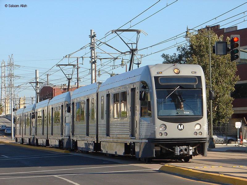 (186k, 800x600)<br><b>Country:</b> United States<br><b>City:</b> Los Angeles, CA<br><b>System:</b> Los Angeles County MTA<br><b>Line:</b> Metro Gold Line <br><b>Location:</b> <b>Little Tokyo/Arts District</b> <br><b>Car:</b> P2550 (Ansaldo-Breda, 2005+)  713 <br><b>Photo by:</b> Salaam Allah<br><b>Date:</b> 11/15/2009<br><b>Viewed (this week/total):</b> 3 / 1289