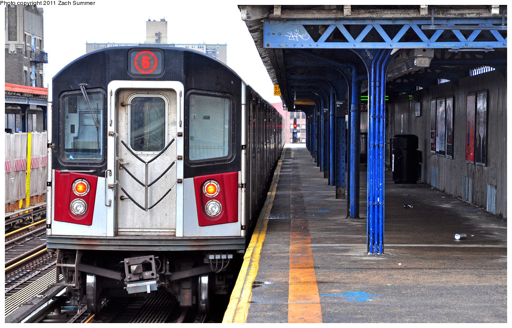 (314k, 1044x669)<br><b>Country:</b> United States<br><b>City:</b> New York<br><b>System:</b> New York City Transit<br><b>Line:</b> IRT Pelham Line<br><b>Location:</b> Elder Avenue <br><b>Route:</b> 6<br><b>Car:</b> R-142A (Primary Order, Kawasaki, 1999-2002)  7230 <br><b>Photo by:</b> Zach Summer<br><b>Date:</b> 1/2/2011<br><b>Viewed (this week/total):</b> 2 / 1745
