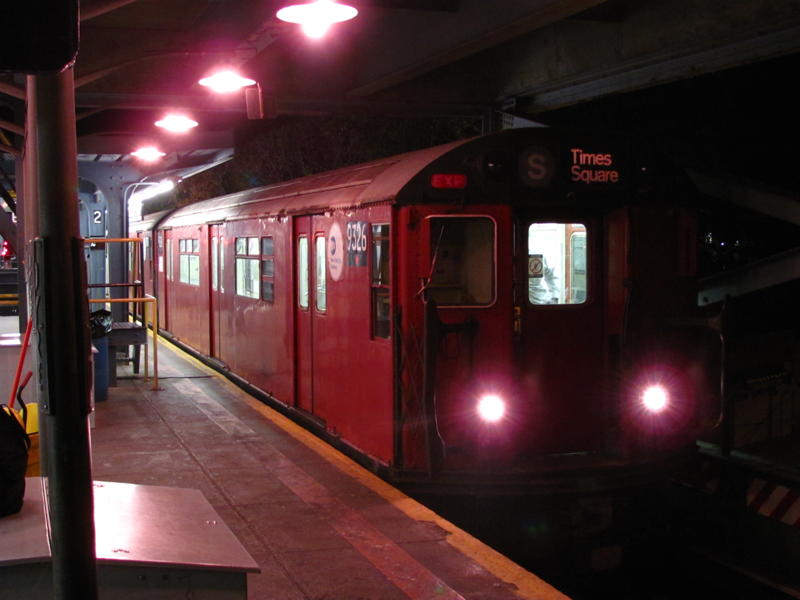(52k, 800x600)<br><b>Country:</b> United States<br><b>City:</b> New York<br><b>System:</b> New York City Transit<br><b>Line:</b> IRT Dyre Ave. Line<br><b>Location:</b> Dyre Avenue <br><b>Route:</b> Work Service<br><b>Car:</b> R-33 World's Fair (St. Louis, 1963-64) 9326 <br><b>Photo by:</b> Steven Cruz<br><b>Date:</b> 12/2010<br><b>Viewed (this week/total):</b> 2 / 2047
