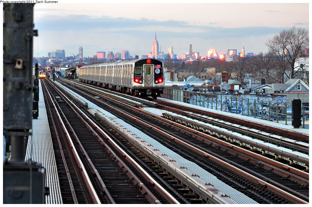(330k, 1044x691)<br><b>Country:</b> United States<br><b>City:</b> New York<br><b>System:</b> New York City Transit<br><b>Line:</b> BMT Culver Line<br><b>Location:</b> Avenue P <br><b>Route:</b> F<br><b>Car:</b> R-160A (Option 1) (Alstom, 2008-2009, 5 car sets)  9362 <br><b>Photo by:</b> Zach Summer<br><b>Date:</b> 1/5/2011<br><b>Viewed (this week/total):</b> 0 / 1923