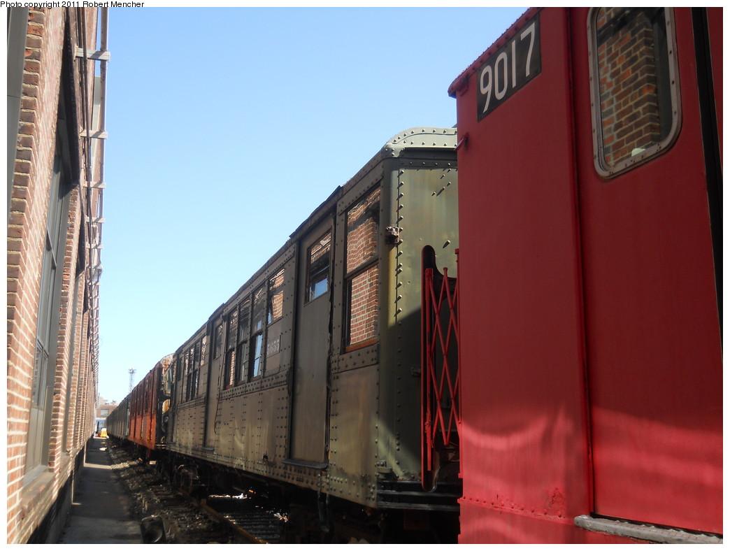 (235k, 1044x788)<br><b>Country:</b> United States<br><b>City:</b> New York<br><b>System:</b> New York City Transit<br><b>Location:</b> 207th Street Yard<br><b>Car:</b> Low-V Worlds Fair 5655 <br><b>Photo by:</b> Robert Mencher<br><b>Date:</b> 3/27/2011<br><b>Viewed (this week/total):</b> 2 / 832