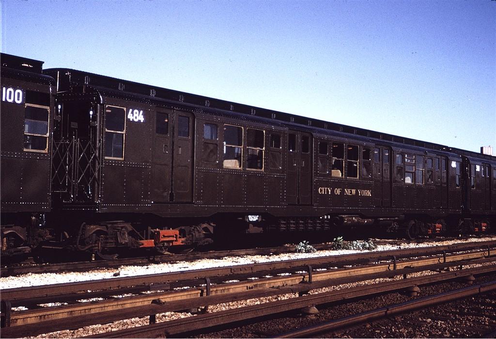 (247k, 1024x699)<br><b>Country:</b> United States<br><b>City:</b> New York<br><b>System:</b> New York City Transit<br><b>Location:</b> Coney Island Yard<br><b>Car:</b> R-4 (American Car & Foundry, 1932-1933) 484 <br><b>Collection of:</b> Joe Testagrose<br><b>Date:</b> 5/22/1971<br><b>Viewed (this week/total):</b> 1 / 696