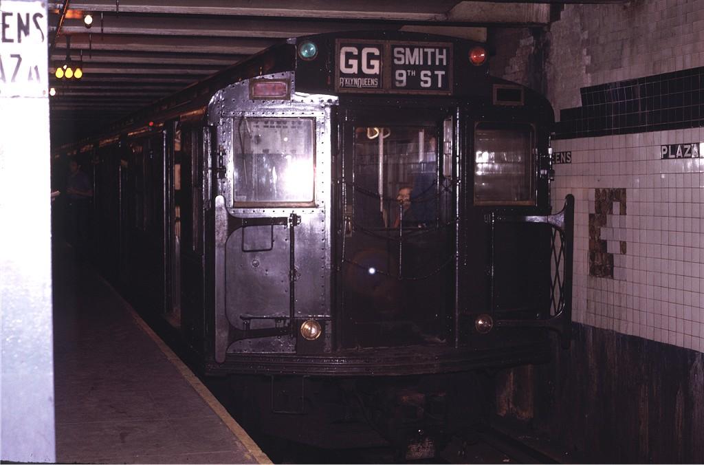 (151k, 1024x676)<br><b>Country:</b> United States<br><b>City:</b> New York<br><b>System:</b> New York City Transit<br><b>Line:</b> IND Queens Boulevard Line<br><b>Location:</b> Queens Plaza <br><b>Route:</b> Fan Trip<br><b>Car:</b> R-4 (American Car & Foundry, 1932-1933) 484 <br><b>Photo by:</b> Joe Testagrose<br><b>Date:</b> 5/5/1974<br><b>Viewed (this week/total):</b> 0 / 803
