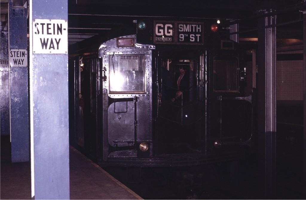 (136k, 1024x670)<br><b>Country:</b> United States<br><b>City:</b> New York<br><b>System:</b> New York City Transit<br><b>Line:</b> IND Queens Boulevard Line<br><b>Location:</b> Steinway Street <br><b>Route:</b> Fan Trip<br><b>Car:</b> R-4 (American Car & Foundry, 1932-1933) 484 <br><b>Photo by:</b> Joe Testagrose<br><b>Date:</b> 5/5/1974<br><b>Viewed (this week/total):</b> 3 / 1425