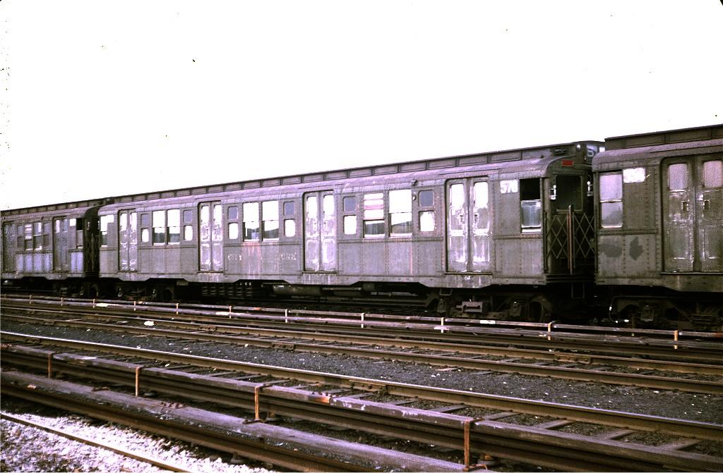 (197k, 1024x671)<br><b>Country:</b> United States<br><b>City:</b> New York<br><b>System:</b> New York City Transit<br><b>Location:</b> Coney Island Yard<br><b>Car:</b> R-4 (American Car & Foundry, 1932-1933) 578 <br><b>Photo by:</b> Steve Zabel<br><b>Collection of:</b> Joe Testagrose<br><b>Date:</b> 4/29/1972<br><b>Viewed (this week/total):</b> 2 / 744