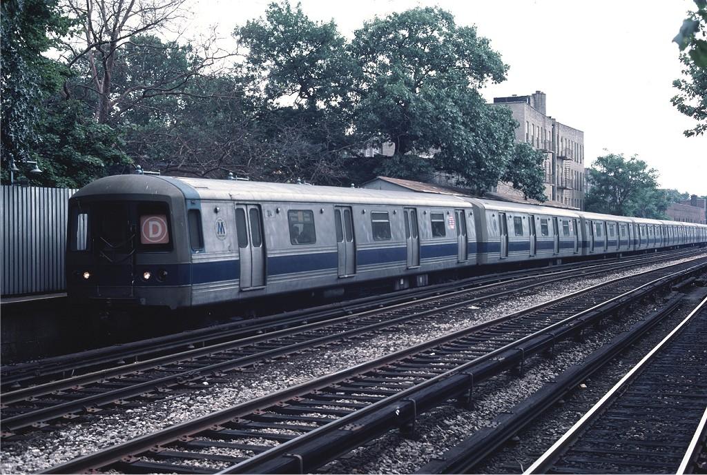 (282k, 1024x689)<br><b>Country:</b> United States<br><b>City:</b> New York<br><b>System:</b> New York City Transit<br><b>Line:</b> BMT Brighton Line<br><b>Location:</b> Avenue H <br><b>Route:</b> D<br><b>Car:</b> R-44 (St. Louis, 1971-73) 304 <br><b>Photo by:</b> Ed McKernan<br><b>Collection of:</b> Joe Testagrose<br><b>Date:</b> 7/4/1976<br><b>Viewed (this week/total):</b> 3 / 1369