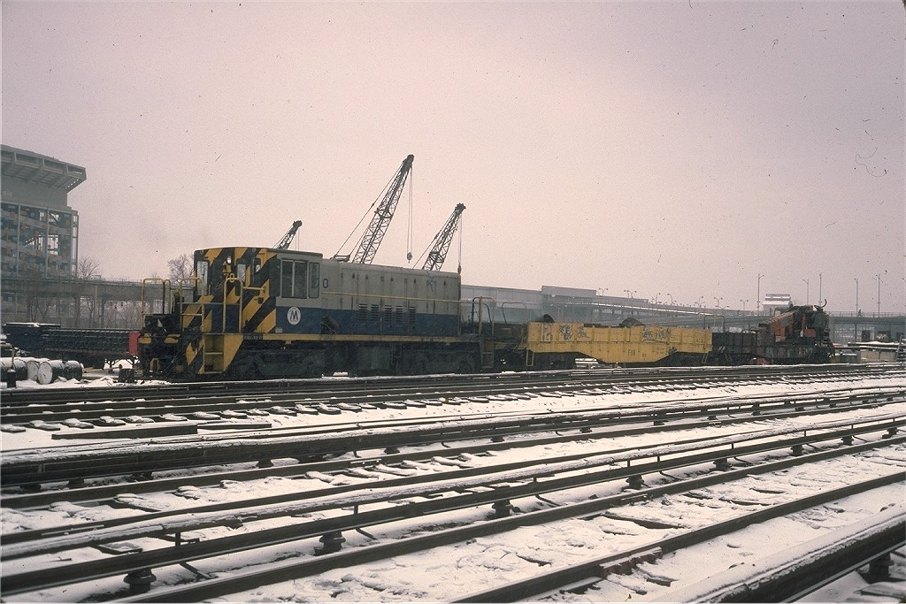 (231k, 1024x683)<br><b>Country:</b> United States<br><b>City:</b> New York<br><b>System:</b> New York City Transit<br><b>Location:</b> Corona Yard<br><b>Route:</b> Work Service<br><b>Car:</b> R-47 Locomotive  70 <br><b>Photo by:</b> Steve Zabel<br><b>Collection of:</b> Joe Testagrose<br><b>Date:</b> 1/19/1978<br><b>Viewed (this week/total):</b> 0 / 903