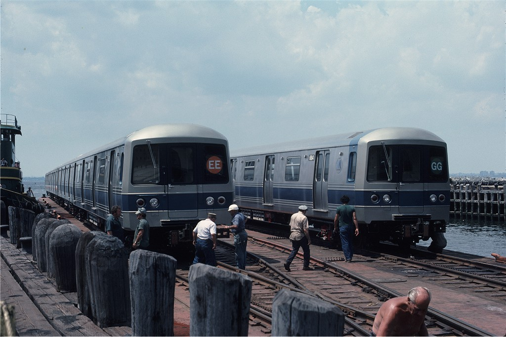 (178k, 1024x682)<br><b>Country:</b> United States<br><b>City:</b> New York<br><b>System:</b> New York City Transit<br><b>Line:</b> South Brooklyn Railway<br><b>Location:</b> Bush Terminal/New York Dock RR - 1st Ave & 51st (BTRR)<br><b>Car:</b> R-46 (Pullman-Standard, 1974-75) 682 <br><b>Photo by:</b> Gerald H. Landau<br><b>Collection of:</b> Joe Testagrose<br><b>Date:</b> 6/27/1976<br><b>Viewed (this week/total):</b> 0 / 1357