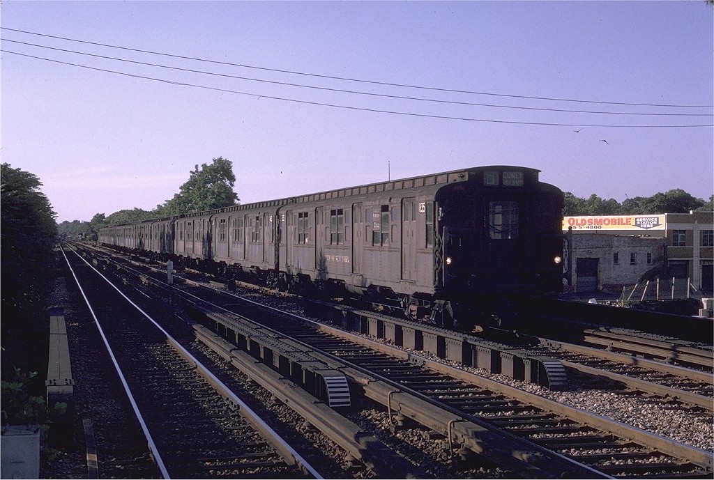 (226k, 1024x689)<br><b>Country:</b> United States<br><b>City:</b> New York<br><b>System:</b> New York City Transit<br><b>Line:</b> BMT Brighton Line<br><b>Location:</b> Avenue M <br><b>Route:</b> D<br><b>Car:</b> R-4 (American Car & Foundry, 1932-1933) 835 <br><b>Photo by:</b> Joe Testagrose<br><b>Date:</b> 6/20/1970<br><b>Viewed (this week/total):</b> 0 / 1116