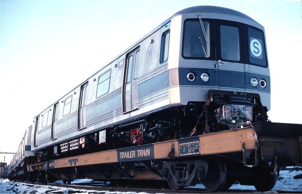 (153k, 1024x658)<br><b>Country:</b> United States<br><b>City:</b> Hoboken, NJ<br><b>System:</b> New York City Transit<br><b>Location:</b> Hoboken Yard <br><b>Car:</b> R-46 (Pullman-Standard, 1974-75) 890 <br><b>Photo by:</b> Ed McKernan<br><b>Collection of:</b> Joe Testagrose<br><b>Date:</b> 12/27/1976<br><b>Viewed (this week/total):</b> 0 / 671