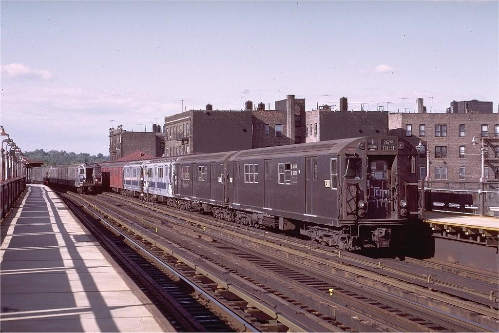 (233k, 1024x683)<br><b>Country:</b> United States<br><b>City:</b> New York<br><b>System:</b> New York City Transit<br><b>Line:</b> IRT West Side Line<br><b>Location:</b> 238th Street <br><b>Route:</b> 1<br><b>Car:</b> R-22 (St. Louis, 1957-58) 7307 <br><b>Photo by:</b> Joe Testagrose<br><b>Date:</b> 6/10/1972<br><b>Viewed (this week/total):</b> 1 / 2596