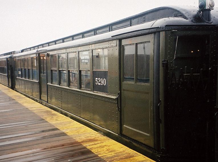(220k, 765x571)<br><b>Country:</b> United States<br><b>City:</b> New York<br><b>System:</b> New York City Transit<br><b>Line:</b> IRT White Plains Road Line<br><b>Location:</b> 238th Street (Nereid Avenue) <br><b>Route:</b> Fan Trip<br><b>Car:</b> Low-V (Museum Train) 5290 <br><b>Photo by:</b> Gary Chatterton<br><b>Date:</b> 3/20/2005<br><b>Viewed (this week/total):</b> 0 / 2585