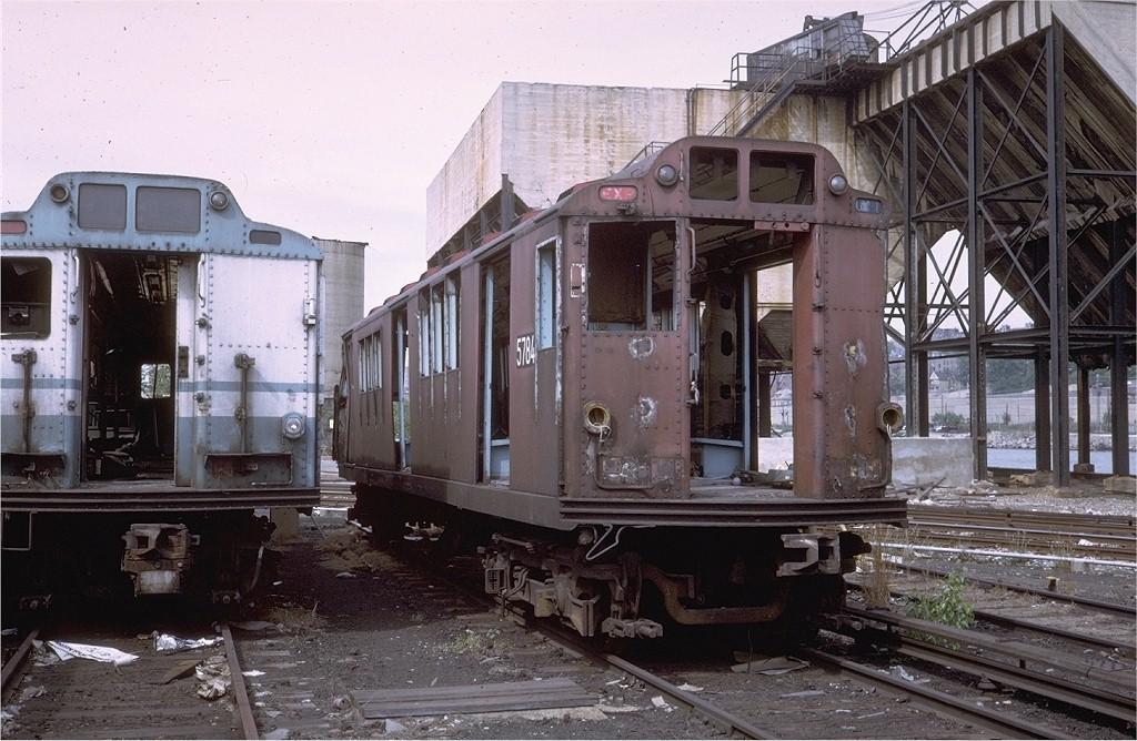 (219k, 1024x668)<br><b>Country:</b> United States<br><b>City:</b> New York<br><b>System:</b> New York City Transit<br><b>Location:</b> 207th Street Yard<br><b>Car:</b> R-12 (American Car & Foundry, 1948) 5784 <br><b>Photo by:</b> Steve Zabel<br><b>Collection of:</b> Joe Testagrose<br><b>Date:</b> 5/30/1971<br><b>Viewed (this week/total):</b> 3 / 9139