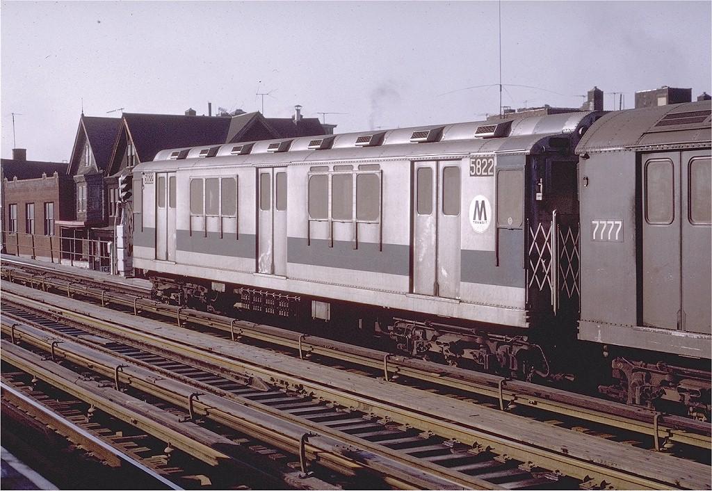 (259k, 1024x706)<br><b>Country:</b> United States<br><b>City:</b> New York<br><b>System:</b> New York City Transit<br><b>Line:</b> IRT White Plains Road Line<br><b>Location:</b> Freeman Street<br><b>Route:</b> 2<br><b>Car:</b> R-14 (American Car & Foundry, 1949) 5822 <br><b>Photo by:</b> Joe Testagrose<br><b>Date:</b> 2/6/1971<br><b>Viewed (this week/total):</b> 1 / 3644