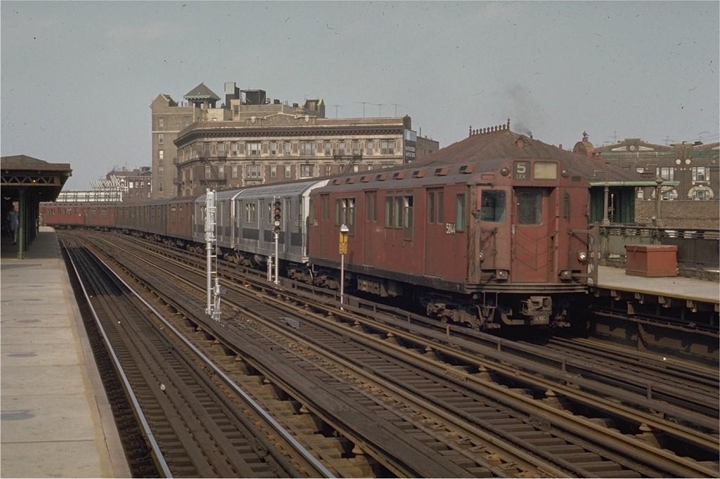 (185k, 1024x682)<br><b>Country:</b> United States<br><b>City:</b> New York<br><b>System:</b> New York City Transit<br><b>Line:</b> IRT White Plains Road Line<br><b>Location:</b> Simpson Street <br><b>Car:</b> R-14 (American Car & Foundry, 1949) 5844 <br><b>Photo by:</b> Joe Testagrose<br><b>Date:</b> 5/9/1970<br><b>Viewed (this week/total):</b> 0 / 2604