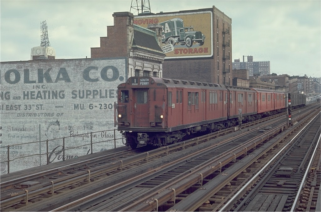 (228k, 1024x677)<br><b>Country:</b> United States<br><b>City:</b> New York<br><b>System:</b> New York City Transit<br><b>Line:</b> IRT West Side Line<br><b>Location:</b> 125th Street <br><b>Car:</b> R-14 (American Car & Foundry, 1949) 5931 <br><b>Photo by:</b> Joe Testagrose<br><b>Date:</b> 4/4/1970<br><b>Viewed (this week/total):</b> 0 / 3078