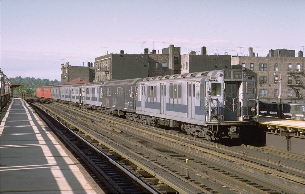 (202k, 1024x654)<br><b>Country:</b> United States<br><b>City:</b> New York<br><b>System:</b> New York City Transit<br><b>Line:</b> IRT West Side Line<br><b>Location:</b> 238th Street <br><b>Route:</b> 1<br><b>Car:</b> R-14 (American Car & Foundry, 1949) 5935 <br><b>Photo by:</b> Joe Testagrose<br><b>Date:</b> 6/10/1972<br><b>Viewed (this week/total):</b> 0 / 2530