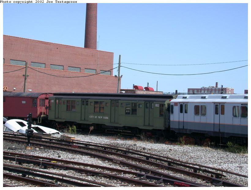 (127k, 820x620)<br><b>Country:</b> United States<br><b>City:</b> New York<br><b>System:</b> New York City Transit<br><b>Location:</b> Coney Island Yard-Museum Yard<br><b>Car:</b> R-9 (Pressed Steel, 1940)  1802 <br><b>Photo by:</b> Joe Testagrose<br><b>Date:</b> 9/22/2002<br><b>Viewed (this week/total):</b> 0 / 2823