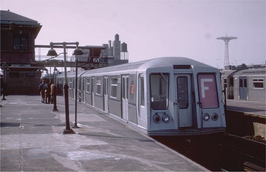 (149k, 1024x661)<br><b>Country:</b> United States<br><b>City:</b> New York<br><b>System:</b> New York City Transit<br><b>Location:</b> Coney Island/Stillwell Avenue<br><b>Route:</b> F<br><b>Car:</b> R-40 (St. Louis, 1968)  4370 <br><b>Photo by:</b> Joe Testagrose<br><b>Viewed (this week/total):</b> 3 / 3468
