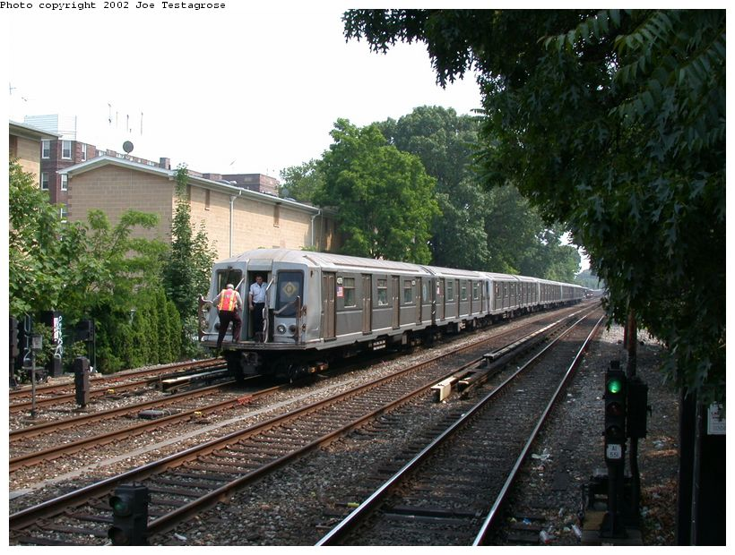 (152k, 820x620)<br><b>Country:</b> United States<br><b>City:</b> New York<br><b>System:</b> New York City Transit<br><b>Line:</b> BMT Brighton Line<br><b>Location:</b> Avenue H <br><b>Route:</b> Q<br><b>Car:</b> R-40 (St. Louis, 1968)  4379 <br><b>Photo by:</b> Joe Testagrose<br><b>Date:</b> 6/11/2002<br><b>Viewed (this week/total):</b> 0 / 3508