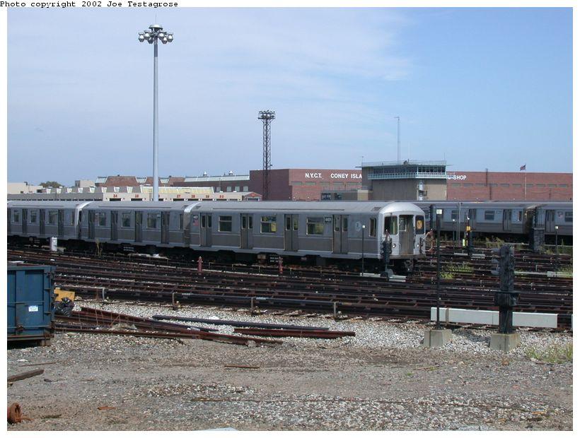 (128k, 820x620)<br><b>Country:</b> United States<br><b>City:</b> New York<br><b>System:</b> New York City Transit<br><b>Location:</b> Coney Island Yard<br><b>Car:</b> R-40M (St. Louis, 1969)  4451 <br><b>Photo by:</b> Joe Testagrose<br><b>Date:</b> 9/22/2002<br><b>Viewed (this week/total):</b> 0 / 2800