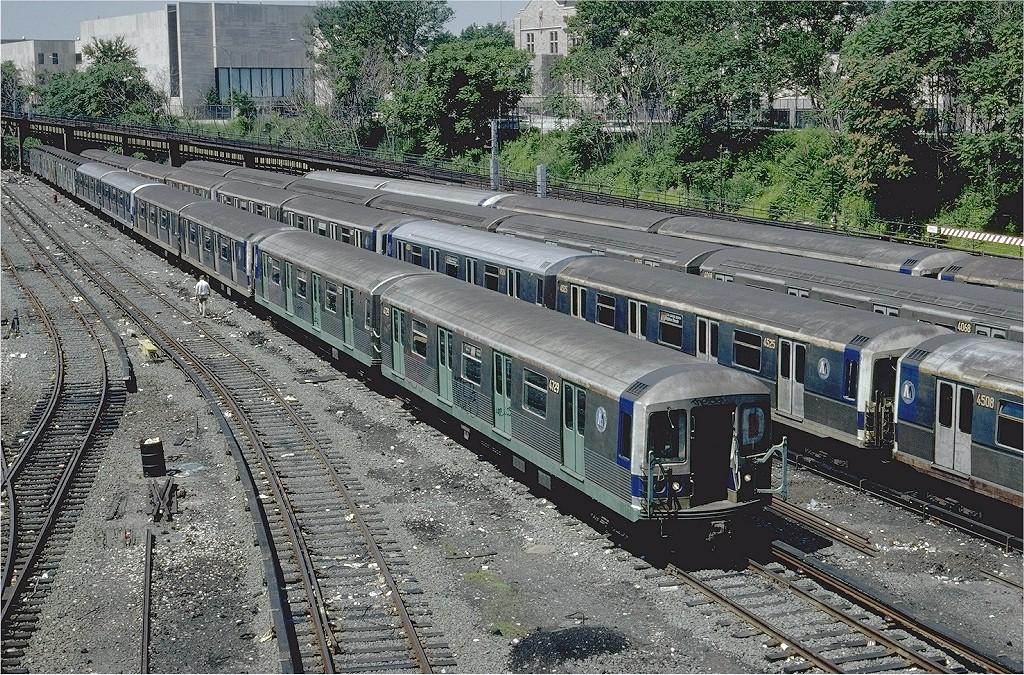 (370k, 1024x675)<br><b>Country:</b> United States<br><b>City:</b> New York<br><b>System:</b> New York City Transit<br><b>Location:</b> Concourse Yard<br><b>Car:</b> R-42 (St. Louis, 1969-1970)  4729 <br><b>Photo by:</b> Steve Zabel<br><b>Collection of:</b> Joe Testagrose<br><b>Date:</b> 6/29/1981<br><b>Viewed (this week/total):</b> 1 / 4602