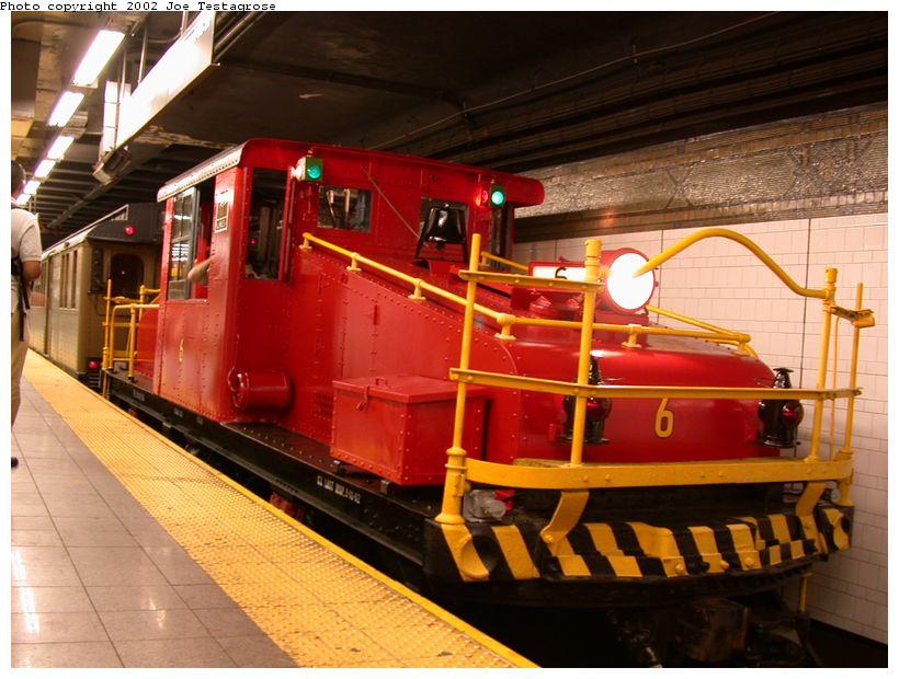 (129k, 820x620)<br><b>Country:</b> United States<br><b>City:</b> New York<br><b>System:</b> New York City Transit<br><b>Line:</b> BMT 4th Avenue<br><b>Location:</b> 36th Street <br><b>Route:</b> Fan Trip<br><b>Car:</b> SBK Steeplecab 6 <br><b>Photo by:</b> Joe Testagrose<br><b>Date:</b> 9/22/2002<br><b>Viewed (this week/total):</b> 0 / 4107