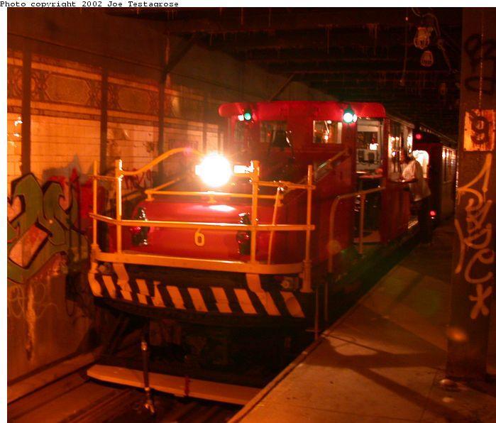 (57k, 699x596)<br><b>Country:</b> United States<br><b>City:</b> New York<br><b>System:</b> New York City Transit<br><b>Line:</b> BMT Culver Line<br><b>Location:</b> 9th Avenue (Lower Level) <br><b>Route:</b> Fan Trip<br><b>Car:</b> SBK Steeplecab 6 <br><b>Photo by:</b> Joe Testagrose<br><b>Date:</b> 9/22/2002<br><b>Viewed (this week/total):</b> 0 / 11053