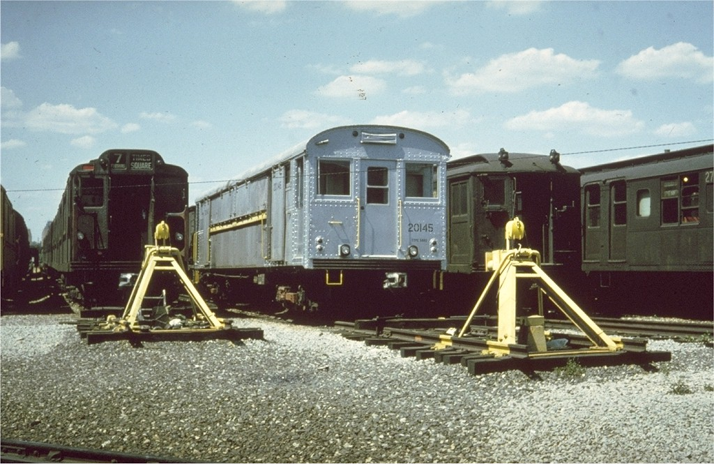 (208k, 1024x665)<br><b>Country:</b> United States<br><b>City:</b> New York<br><b>System:</b> New York City Transit<br><b>Location:</b> Coney Island Yard<br><b>Car:</b> Rubbish Collection Car (ACF, 1918)  20145 <br><b>Collection of:</b> Joe Testagrose<br><b>Viewed (this week/total):</b> 3 / 4524