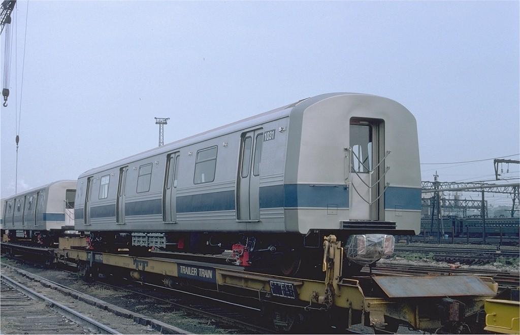 (161k, 1024x660)<br><b>Country:</b> United States<br><b>City:</b> Hoboken, NJ<br><b>System:</b> New York City Transit<br><b>Location:</b> Hoboken Yard <br><b>Car:</b> R-46 (Pullman-Standard, 1974-75) 1031 <br><b>Photo by:</b> Ed McKernan<br><b>Collection of:</b> Joe Testagrose<br><b>Date:</b> 5/21/1977<br><b>Viewed (this week/total):</b> 2 / 392