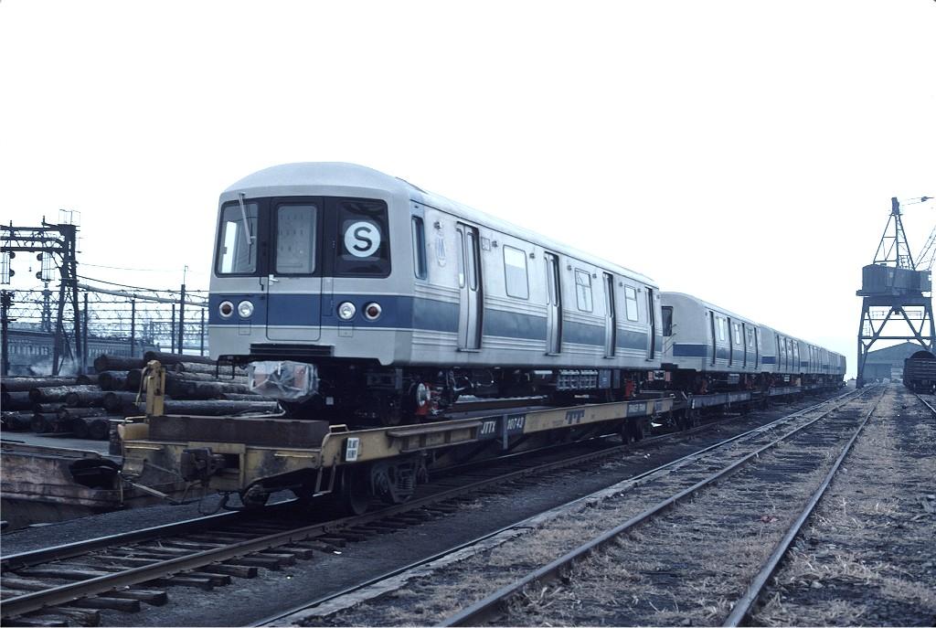 (171k, 1024x687)<br><b>Country:</b> United States<br><b>City:</b> Hoboken, NJ<br><b>System:</b> New York City Transit<br><b>Location:</b> Hoboken Yard <br><b>Car:</b> R-46 (Pullman-Standard, 1974-75) 940 <br><b>Photo by:</b> Ed McKernan<br><b>Collection of:</b> Joe Testagrose<br><b>Date:</b> 2/24/1977<br><b>Viewed (this week/total):</b> 0 / 582